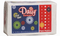 Illustration of 150ct Daisy napkins