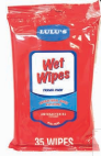 Illustration of Lulu's Wet Wipes Travel Pack