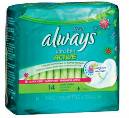 Product Illustration of Always Ultra Thin Regular w/ Flex Wings 10ct.