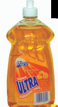 Illustration of First Force Ultra Dish Liquid Citrus 28oz