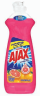 Illustration of Ajax Dish Liquid 14oz Grapefruit w/ Bleach