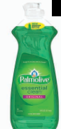 Illustration of Palmolive Dish Liquid 14 oz. Original