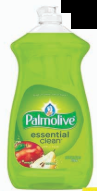 Illustration of Palmolive Dish Liquid 28 oz. Apple Pear