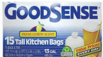 Illustration of Goodsense Kitchen Bag 13 Gallon Trash Bag 15ct.