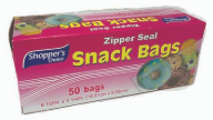 Product Illustration of Shopper's Choice Snack Bag 50ct