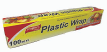 Illustration of Shopper's Choice Plastic Wrap 100 sq. ft.