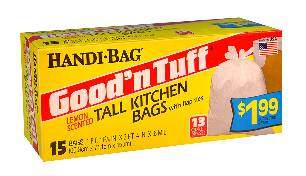 Illustration of Handi Bag Good N' Tuff Tall Kitchen Bags 13 Gallon 15ct.