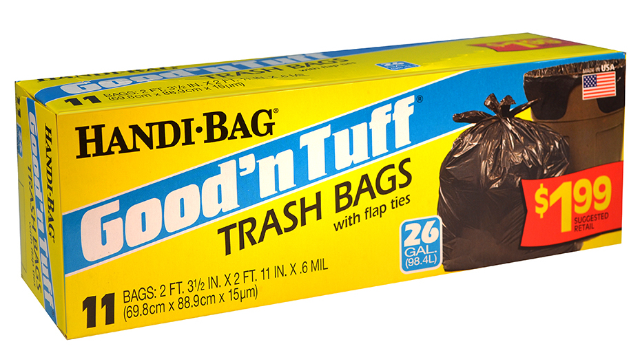 Illustration of Handi Bag Good N' Tuff Trash Bags 26 Gallon 11ct.