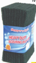 Illustration of Shopper's Choice 10pk Heavy Duty Scouring Pads