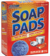 Product Illustration of Dura Blue Soap Pads 8 pk