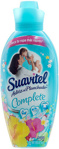 Illustration of Suavitel Fabric Softner 800ml Aqua