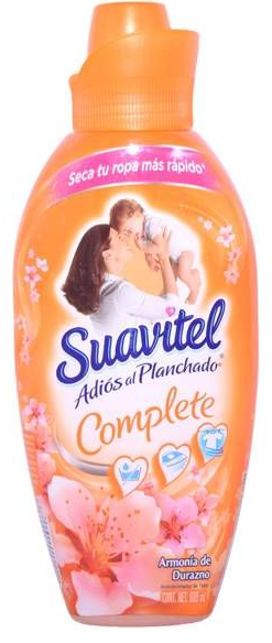 Illustration of Suavitel Fabric Softner 800ml Peach