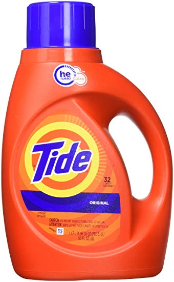Product Illustration of Tide Liquid Laundry Detergent 50oz.