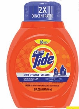 Illustration of Tide Liquid Laundry Detergent 25oz.