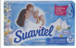 Illustration of Suavitel Fabric Softner Sheets Field of Flowers 40ct