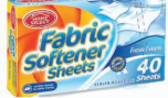 Illustration of Fabric Softner Sheets Fresh Linen 40ct
