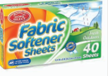 Illustration of Fabric Softner Sheets Fresh Outdoors 40ct