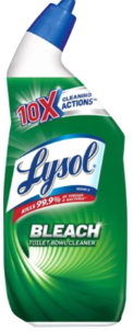 Product Illustration of Lysol Toilet Bowl Cleaner 32oz. Bleach
