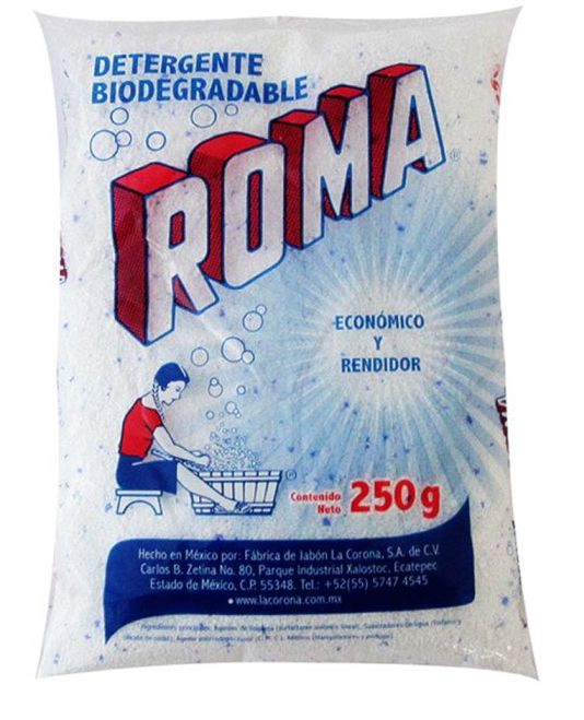 Illustration of Roma laungry detergent 250gms
