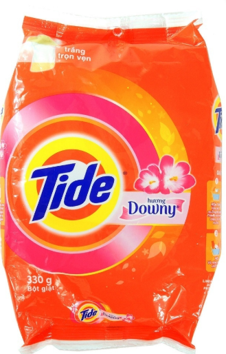 Illustration of Tide Laundry Detergent w/ Downy 330gms