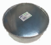 "Illustration of 9"" round with board lid 3 pk"