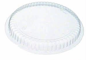 "Illustration of 9"" plastic dome lid"