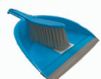 Illustration of Dustpan with Brush