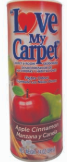 Illustration of Love my carpet powder 14oz - apple cinnamon