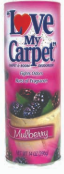 Illustration of Love my carpet powder 14oz - mulberry