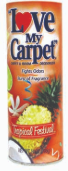 Illustration of Love my carpet powder 14oz - tropical festival