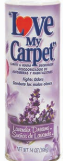 Illustration of Love my carpet powder 14oz  - lavender