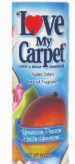 Illustration of Love my carpet powder 14oz  - hawain passion