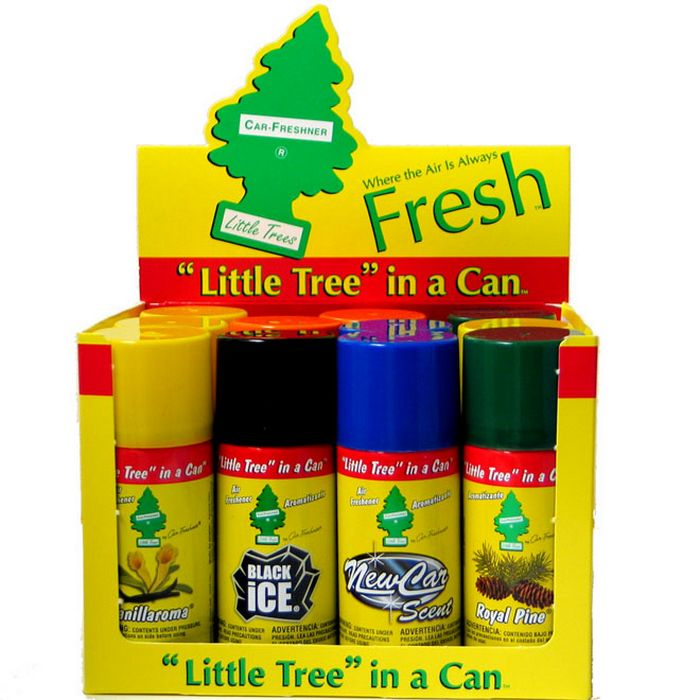 Illustration of Little Trees Car Airfreshner Spray 2.5oz Assorted