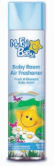 Illustration of Lucky Baby Blue Air Freshner