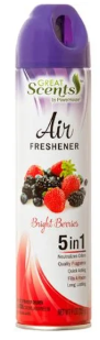 Illustration of Great Scents Air Freshner  - Bright Berries