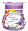Illustration of Crystal Beads Air Freshner Lavender
