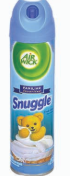 Illustration of Air Wick Spray 8oz. Snuggle Fresh Linen