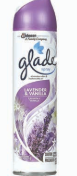 Illustration of Glade Spray 8oz. Lavender & Vanilla