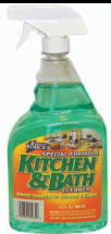 Illustration of First Force Kitchen & Bathroom Cleaner 32oz