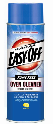 Illustration of Easy Off Oven Cleaner Fume Free