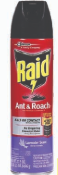 Illustration of Raid Ant & Roach Speay 17.5oz. Lavender