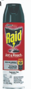 Illustration of Raid Ant & Roach Speay 17.5oz. Fragnance Free