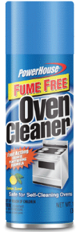Illustration of Powerhouse Oven Cleaner Fume Free