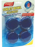 Illustration of Shopper's Choice 4pk Toilet Bowl Cleaner