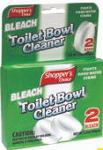 Illustration of Shopper's Choice 2pk bowl Cleaner Green & Bleach