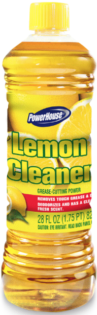 Illustration of Powerhouse Floor Cleaner  lemon 16oz